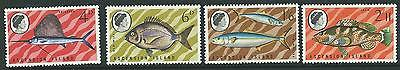 ASCENSION SG117/20 1969 FISH (2nd SERIES) MNH