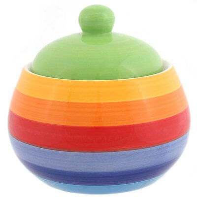 sugar pot from the rainbow collection 12 x 10cm wide RC_39125B
