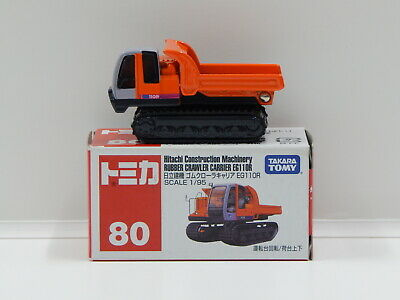 1:95 Hitachi Rubber Crawlel Carrier EG11OR - Made in Vietnam Tomica 80