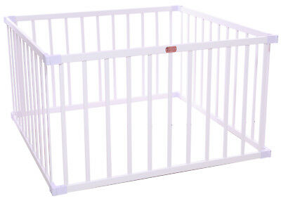 TikkTokk BOSS Square Playpen - white