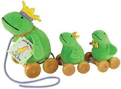 Pull Toy Frog & Babies
