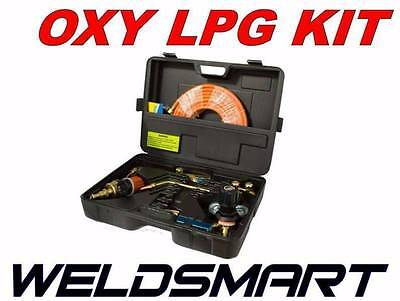 Weldsmart - Oxygen & Lpg Gas Cutting And Welding Outfit - Cig Comet Propane