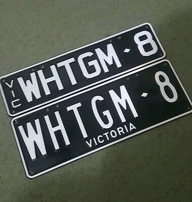 personalised number plates vic