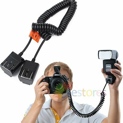 Godox TL-S 3M Off Camera & Flash Speedlite TTL Hot Shoe Cable Cord For Sony【UK】