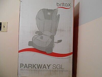 New Britax Parkway Sgl Booster Car Seat Scout Meadow Baby Kids Safety