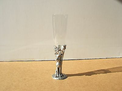 """Disney Dog """"Tramp"""" Pewter Wine Glass by Seagull Pewter"""
