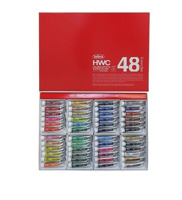 """Holbein """"Artists' Watercolor"""" 5ml 48 Colour Set"""