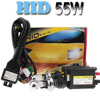 55W Xenon HID Headlight Conversion KIT Bulbs H1/H3/H4/H7/H11/9005/9006/880/881