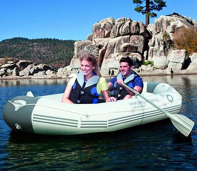 Bestway Inflatable Hydro-Force Marine Pro Duct Sport Fishing Dinghy #65044 Pump