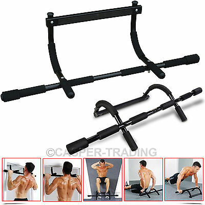 Home Door Gym Bar Chin Up Pull Up Exercise Fitness Body Training Workout Rod UK