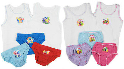 Teletubbies Boys and Girls Vest and Pants Set 18-24m 2-3y 3-4y 4-5y