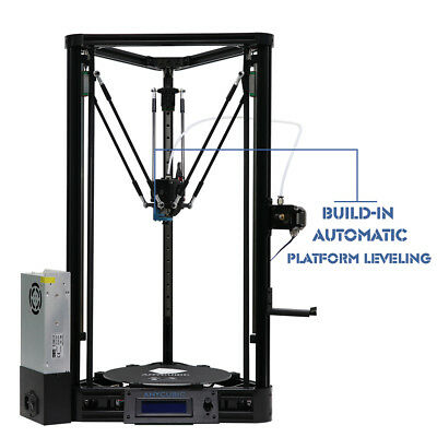 Anycubic Self-assembly Kossel 3D Printer Plus Linear Guide Rail Version DIY New