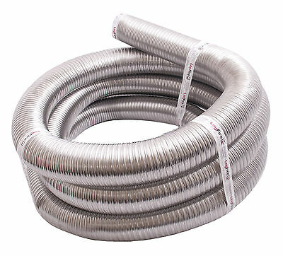 "WECFlex Stainless Steel Flue Chimney Liner Multi Fuel 316 150mm 6"" 8 metre"
