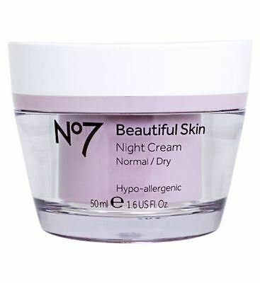 No7 Beautiful Skin Night Cream For Normal / Dry Skin 50Ml