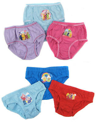 Teletubbies Boys and Girls Briefs Pants Set 18-24m 2-3y 3-4y  Ideal Gift