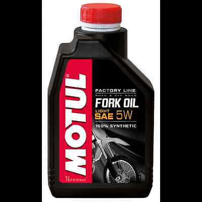 MOTUL Aceite de suspension FORK OIL FACTORY LINE LIGHT 5W 1 L