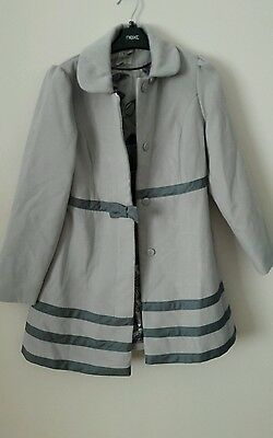 Beautiful Girls Coat From Next Age  12 New