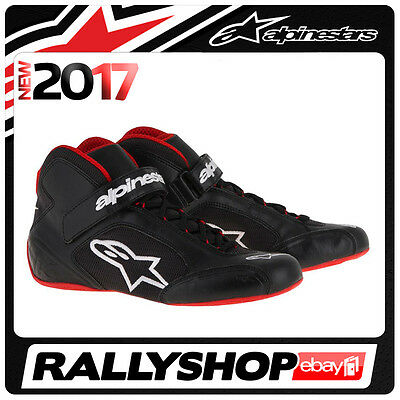 ALPINESTARS karting shoes TECH 1-K BLACK RED NEW 2017 kart racing BOOTS