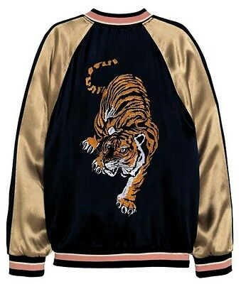 Large Hunting Tiger Muay Thai Boxing K1 Mma Ufc Fighter Sew On Patch Back Tattoo