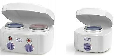 Babyliss Pro Satin Smooth Double & Single Pot Waxing Heater For Wax Lotions