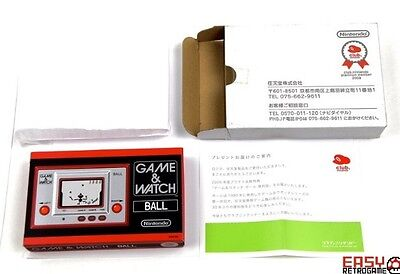 Game and Watch Ball Nintendo Club W/box NEW