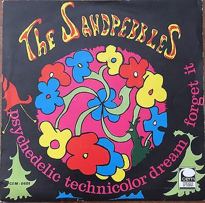 "The Sandpebbles Psychedelic Spain Orig Northern  Soul Rare 7"" Ps 1967"