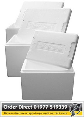 Polystyrene Box - Cool Box - Fish Box - Various Sizes And Pack Quantities