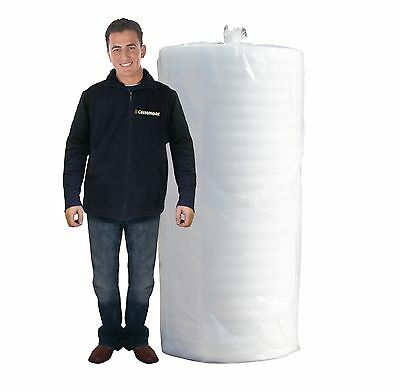 Foam Wrap Roll Packaging/Underlay - 2.5mm Thick 120m Long - Various Widths