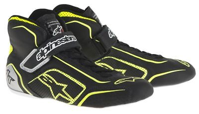 FIA ALPINESTARS race shoes TECH 1-T BLACK YELLOW 1T NEW 2017 racing rally BOOTS