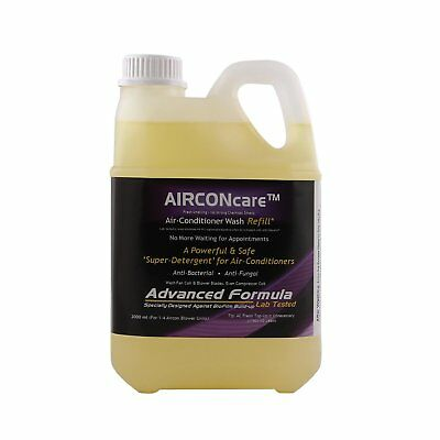 NEW AIRCONcare Air Conditioner Coil Cleaner for Both Home and Car Auto AC