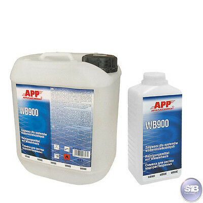 APP WB900 Cleaning agents Water-based 1L