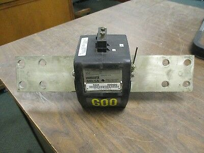 Schlumberger Type R6M Current Transformer 92352-185 Ratio 600:5A 10KV BIL Used