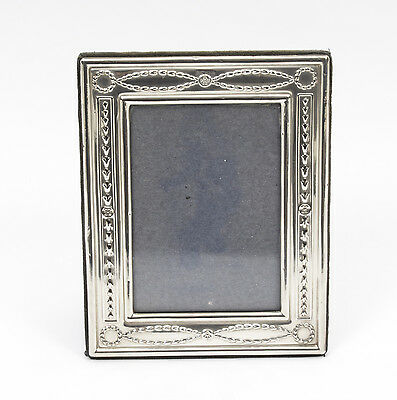 A Neo Classical Sterling Silver Photo Frame