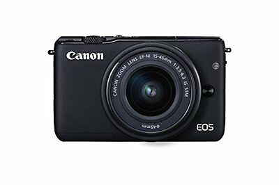 Canon EOS M10 with EF-M 15-45mm Image Stabilization STM Lens Kit