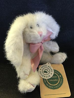 """Boyds Bears 7"""" Hare from The Archive Collection. Retired, Very Rare in UK"""