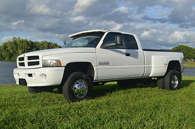 2000 Dodge Ram 3500 Base Extended Cab Pickup 4-Door 2000 Dodge Ram 3500 Sport 5.9 Cummins Diesel 4x4 Dually Leather Florida truck