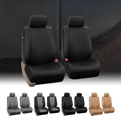 PU Leather Bucket Seat/Full Set  Covers for Seats with Headrests