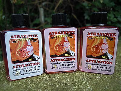 Attraction oil anointing magical oil spell supplies spells witchcraft