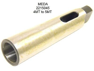 NEW MEDA MORSE TAPER DRILL SLEEVE ADAPTER MT4 to MT5 MTA 2215045