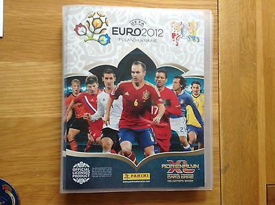 Panini Euro 2012 Poland/Ukraine Complete Collection 305 cards