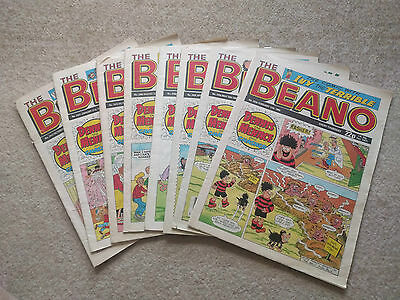 Vintage beano comic from the 1980's