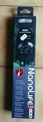 Thermostat électronique pour aquarium Zolux  NanoLife T-Set 500
