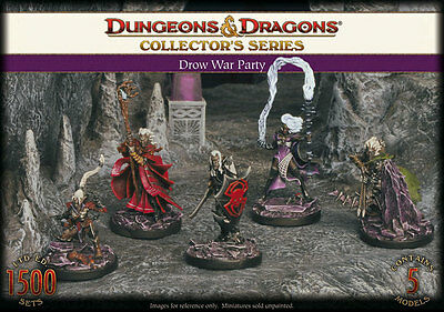Gale Force Nine - D&D Collector's Series: Drow War Party  71001