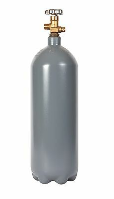 10 lb. Steel CO2 Cylinder Reconditioned - Fresh Hydro Test! CGA320 Valve