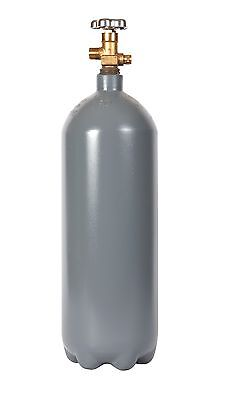 10 lb. Steel CO2 Reconditioned Cylinder CGA Valve Fresh Hydro Test Free Shipping