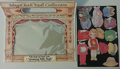 """Collectible 1995 MagiCloth Doll Collection """"Dolly Dingle and Friends Series"""""""