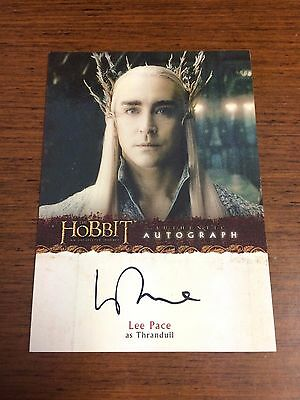 Cryptozoic The Hobbit An Unexpected Journey Auto Autograph A19 LEE PACE THRANDUL