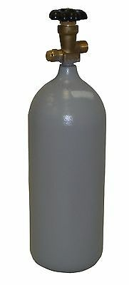 5 lb. Steel CO2 Cylinder Reconditioned - Fresh Hydro Test! CGA320 Valve