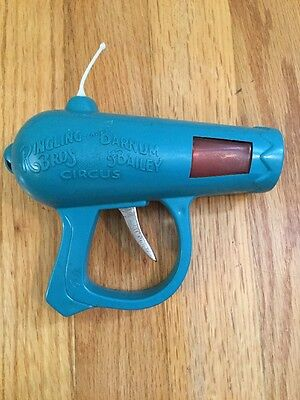 Vintage 1978 Toy Friction Space Ray Gun Ringling Bros Barnum & Bailey Circus