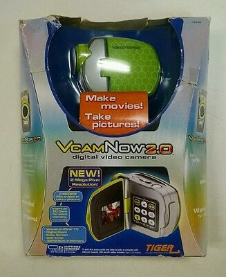 Hasbro Tiger Electronics VCAMNOW VCAM NOW 2.0 BRAND NEW OPENED BOX